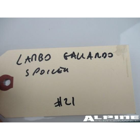 Lamborghini Gallardo rear wing spoiler - white