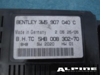 Bentley Continental Flying Spur Control Unit Ecu a/c control module