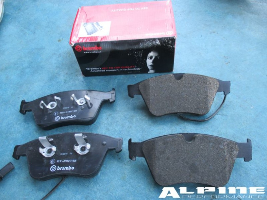 oem bentley continental gt gtc flying spur brembo front brakes brake pads