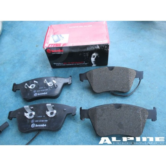 High Quality Bentley Continental Gt /& Flying Spur Rear Brake Pads Kit