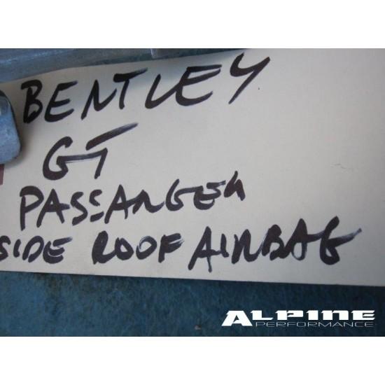 Bentley Continental GT roof curtain head Air Bag