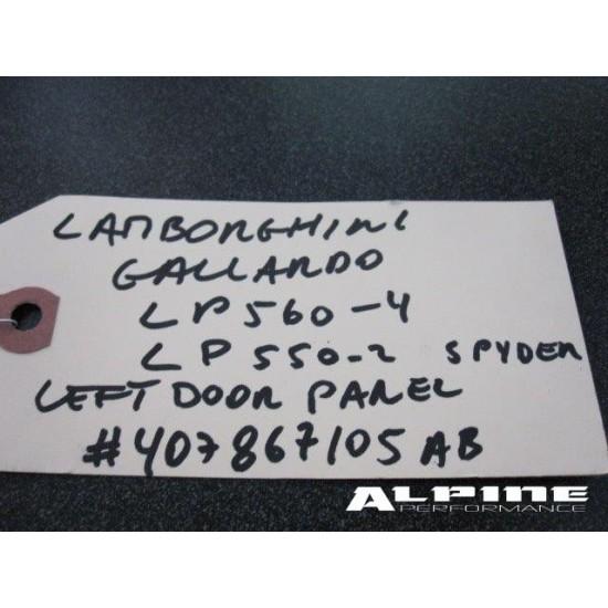 Lamborghini Gallardo left door panel
