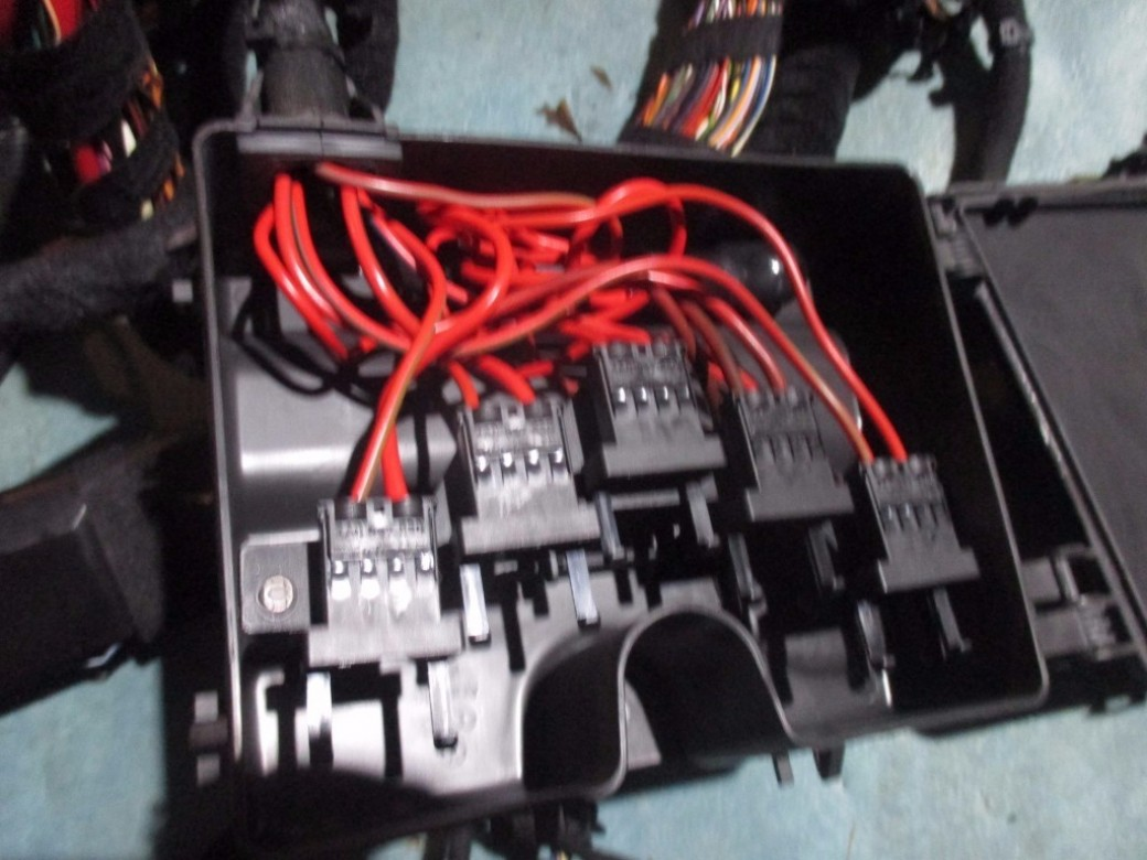Bentley Continental Flying Spur Main Wire Wiring Harness Loom