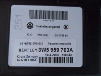 Bentley Continental Flying Spur left rear door window lift regulator motor