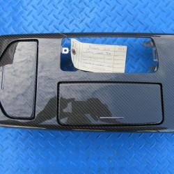 Maserati Ghibli center console carbon trim #5404
