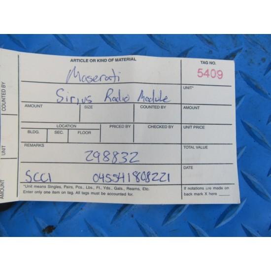 SiriusXM satellite radio tuner SCC1 SC-C1 #5409
