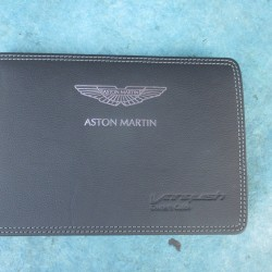 Aston Martin Vanquish owners manual guide hand book #3592