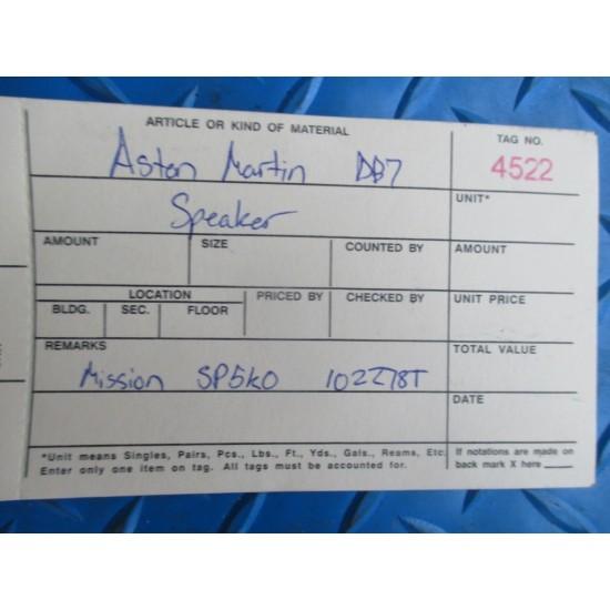 Aston Martin DB7 front rear door speaker #4522