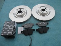 Bentley Continental Gt Gtc Flying Spur front brake pads rotors #4644