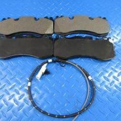 Aston Martin Rapide front brake pads + wear sensors TopEuro #7301