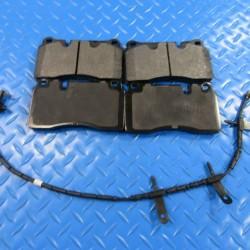 Aston Martin Rapide rear brake pads + wear sensor TopEuro #7302