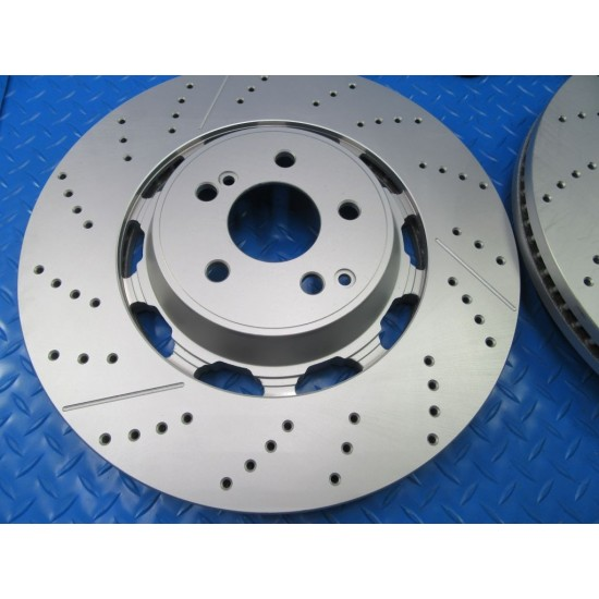 Mercedes S63 S65 Amg W222 front brake pads and rotors TopEuro #7305
