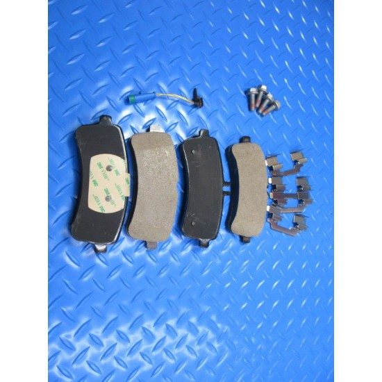 Mercedes S63 S65 C63  Amg rear brake pads hardware & sensor TopEuro #7307