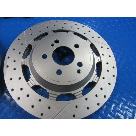 Mercedes S63 S65 Amg rear brake pads and rotors TopEuro #7310