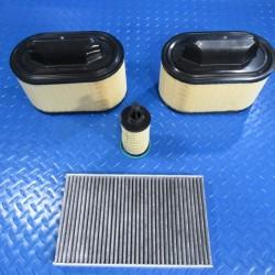Maserati Ghibli Quattroporte Levante engine oil air cabin pollen filters #6721