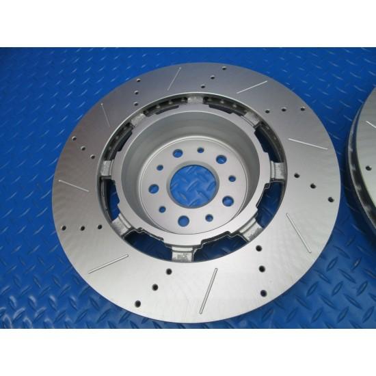 Maserati GranTurismo Gt front rotors TopEuro premium quality 2pcs #7335