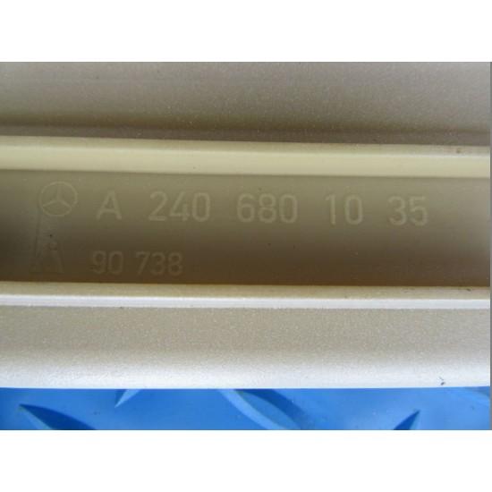 Maybach 57S right rear door  plate #4984