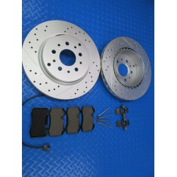 Maserati GranTurismo Gt rear brake pads and rotors TopEuro #7347