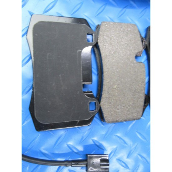 Maserati GranTurismo Gt rear brake pads and rotors TopEuro #7347