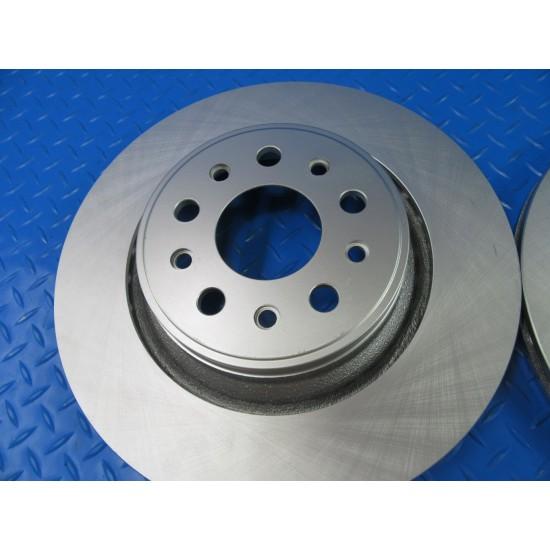 Maserati Ghibli  front rear brake disk rotors smooth TopEuro #6944