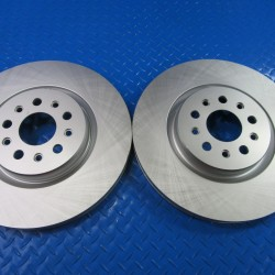 Maserati Ghibli Base Quattroporte front brake disk rotors TopEuro #6941