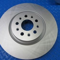 Maserati Ghibli Base front brake disk rotor smooth TopEuro #6946