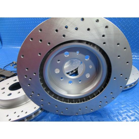 Maserati GranTurismo Quattroporte front rear brake pads rotors TopEuro #6925