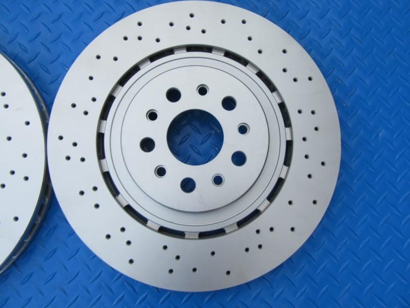 2 Brake Discs Front or Rear Vented Alpine V6 1985-1990