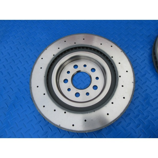 Genuine Maserati Ghibli Sq4 Quattroporte Awd rear rotors set of 2 #5833