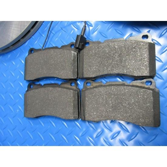 Maserati Ghibli front brake pads disk rotors smooth #6562