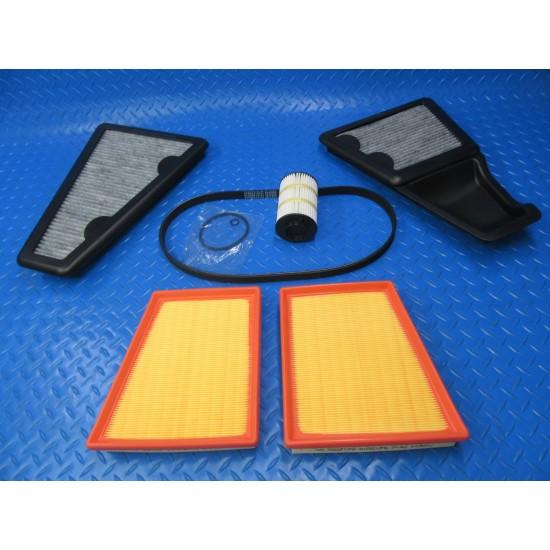Bentley Continental Gt Gtc Flying Spur V8 filters & belt service kit #8957