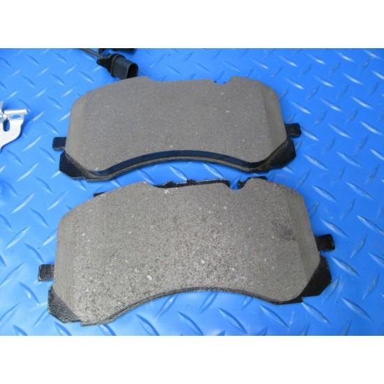 Bentley Bentayga front brake pads and rotors TopEuro #7394
