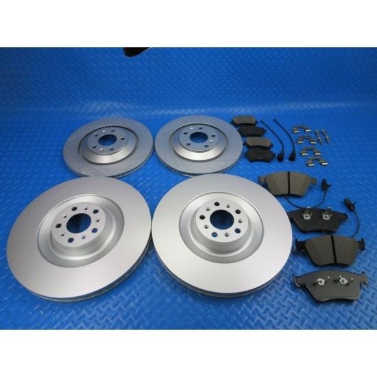 Bentley Gt GTc Flying Spur front rear brake pads rotors TopEuro #7365
