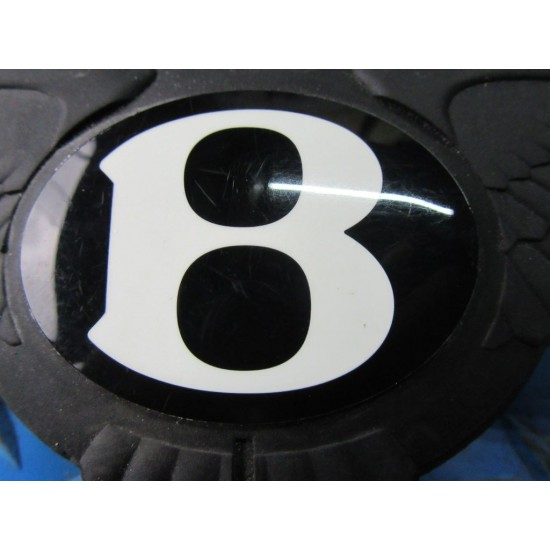 Bentley GT Flying Spur trunk lock switch B emblem badge OEM #5817
