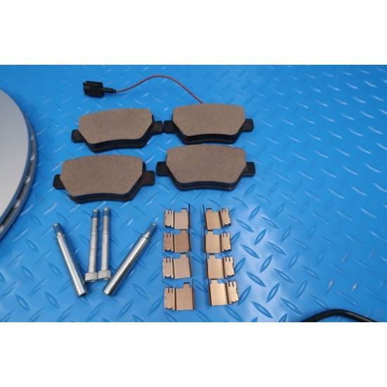 Maserati Ghibli brake pads rotors service kit #9295 FREE FILTER