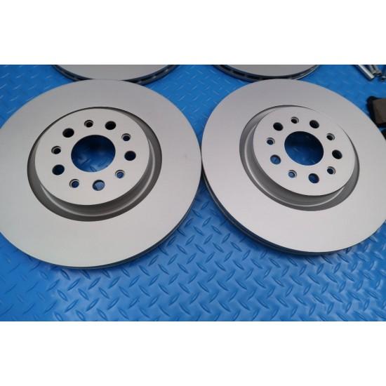 Maserati Ghibli front rear brake pads rotors service kit #9297