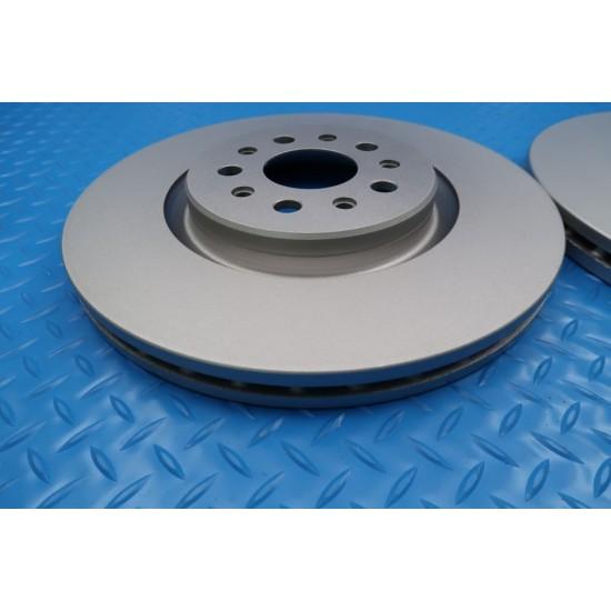 Maserati Ghibli front brake pads rotors service kit TopEuro #9309