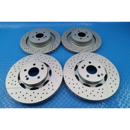 Mercedes Benz E63 AmgS C63 Cls63 Amg front & rear brake rotors TopEuro #9857